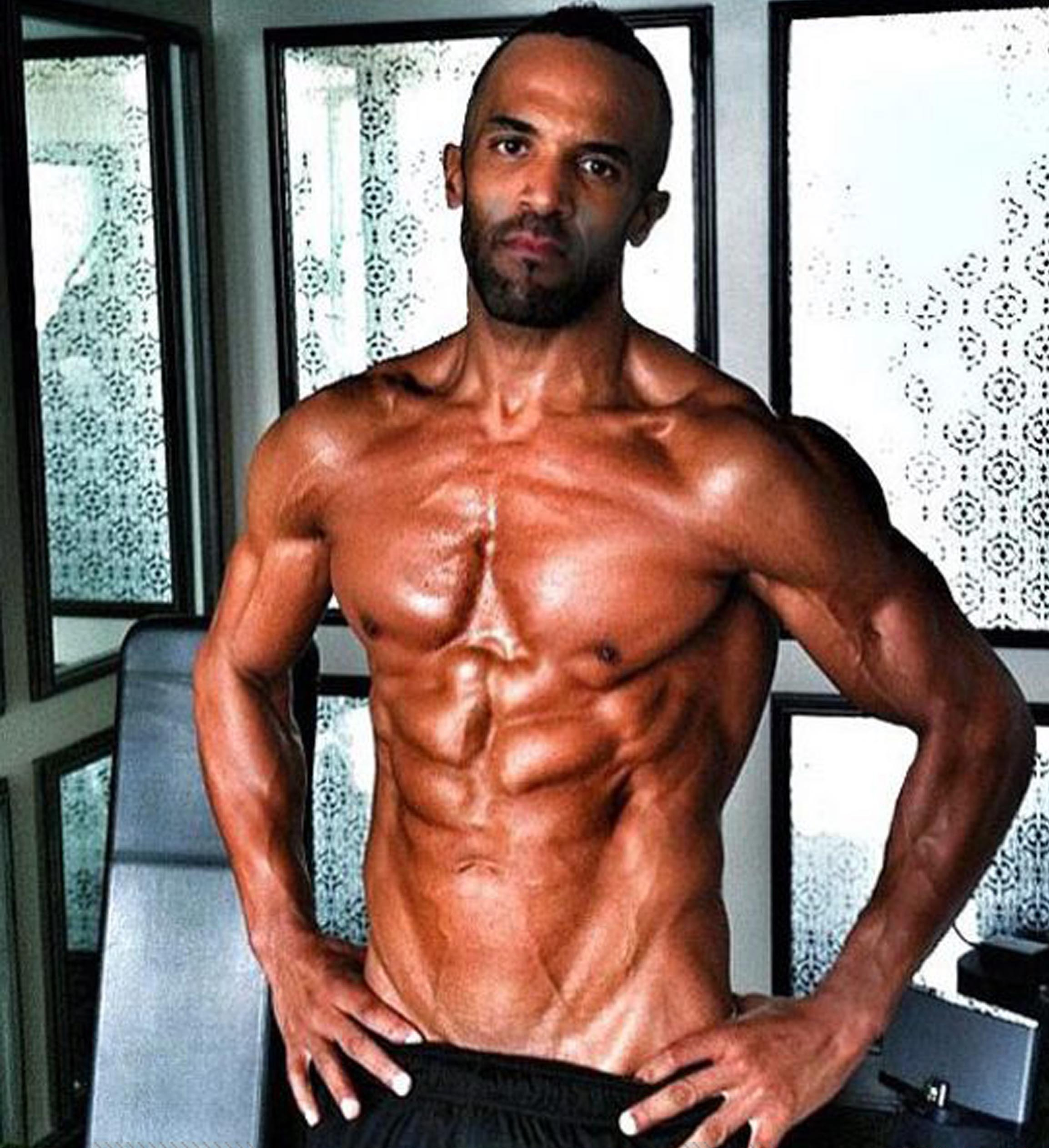 Craig David's muscular new look