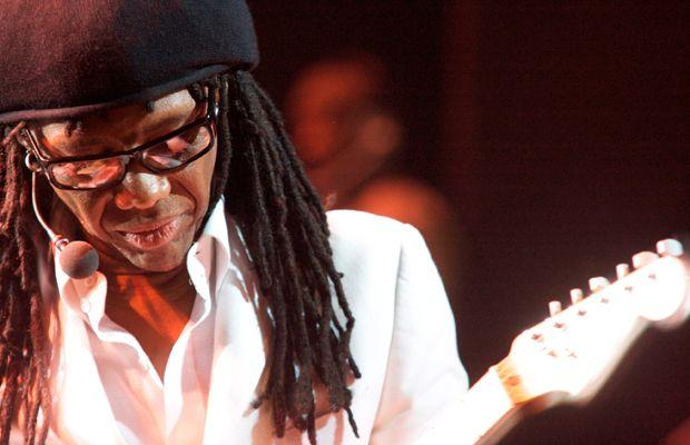 Nile Rodgers performing live