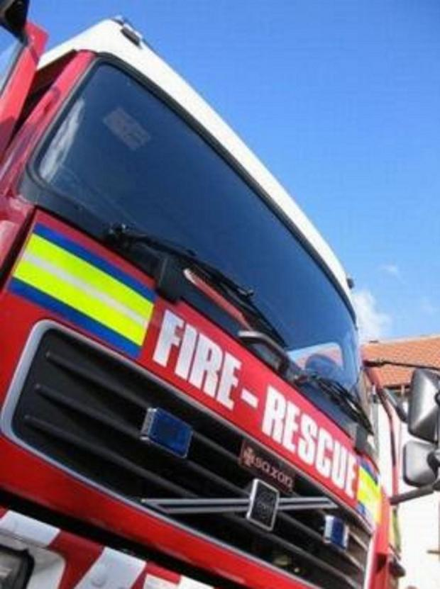Daily Echo: Fire crews were called to a blaze caused by burnt toast