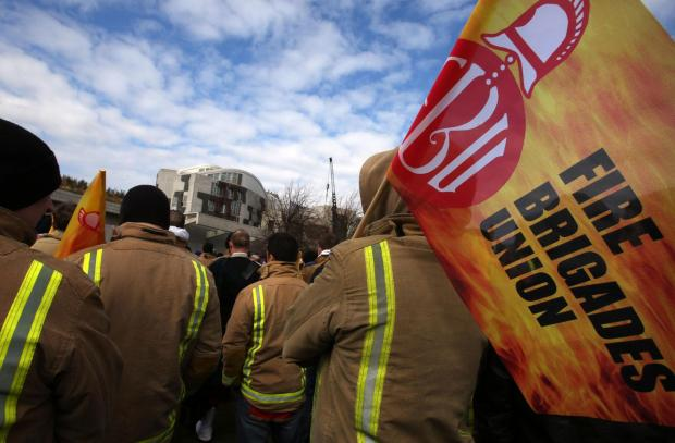 Firefighters to strike again over pensions row