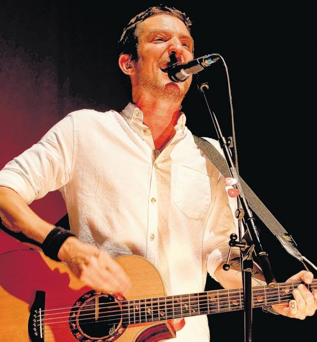 Daily Echo: DONATING: Meonstoke musician Frank Turner has donated records and merchanise to Oxfam Music Southampton after theft.