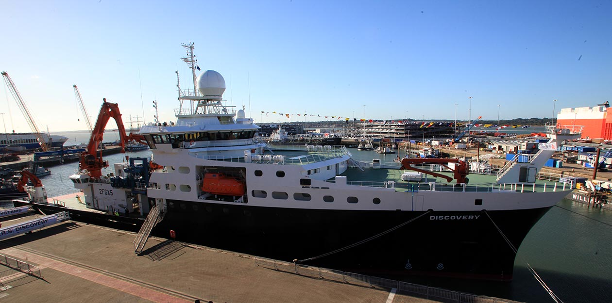 Princess to name £75m Discovery research ship