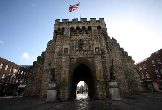 The Bargate in Southampton