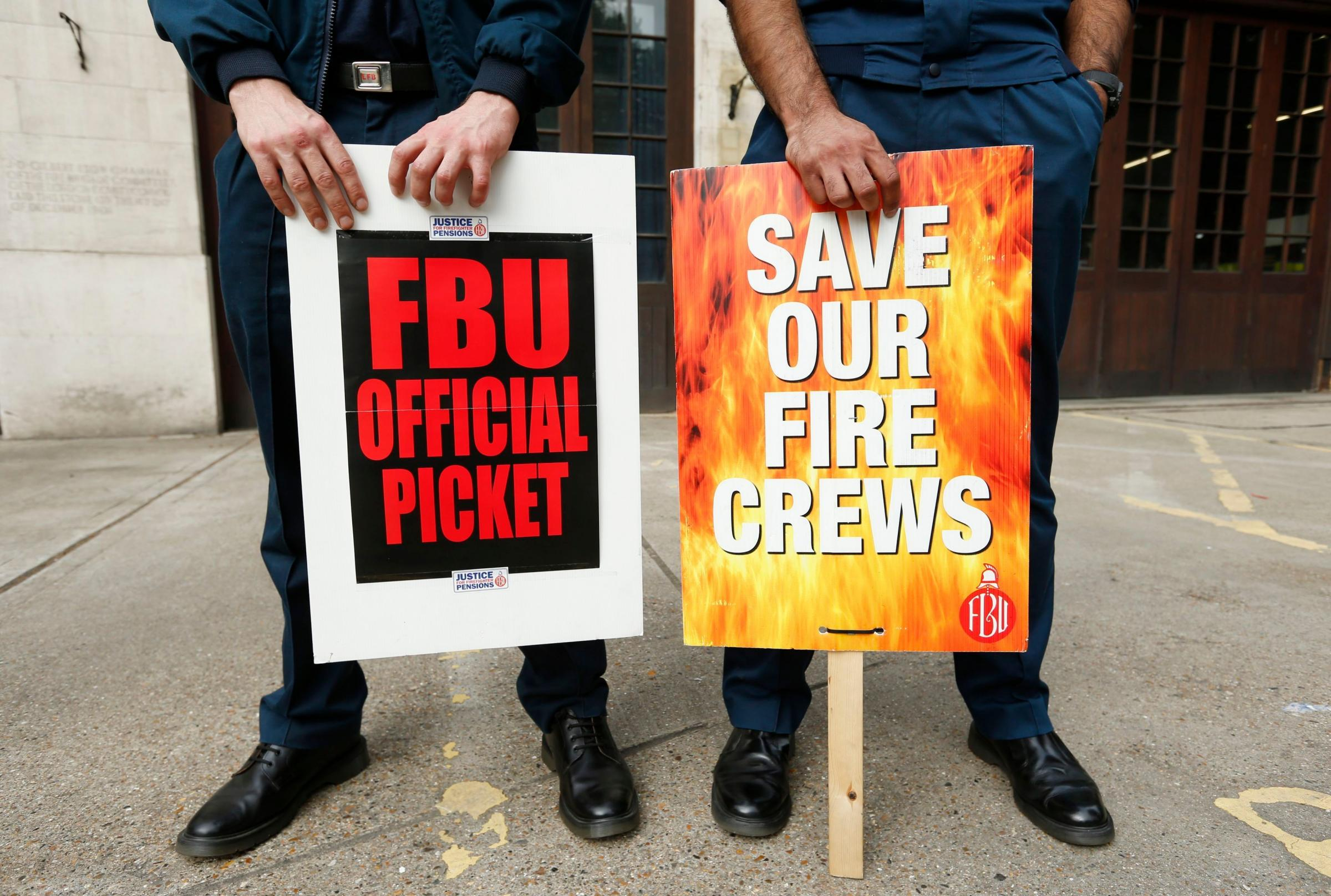 Firefighters begin latest strike action