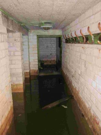 Inside the bunker unearthed at Hamble Airfield