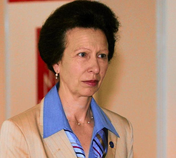 Daily Echo: Princess Anne. Picture by Action Images.
