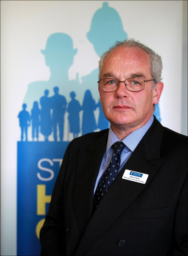 Hampshire police and crime commissioner Simon Hayes has championed the scheme