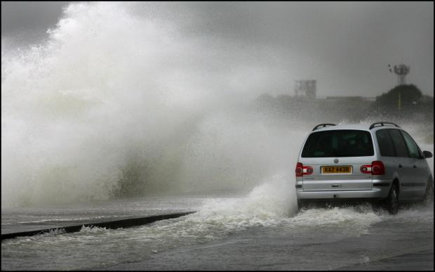 Hampshire in 100 mile an hour storm alert as wind and rain bring travel disrutpion