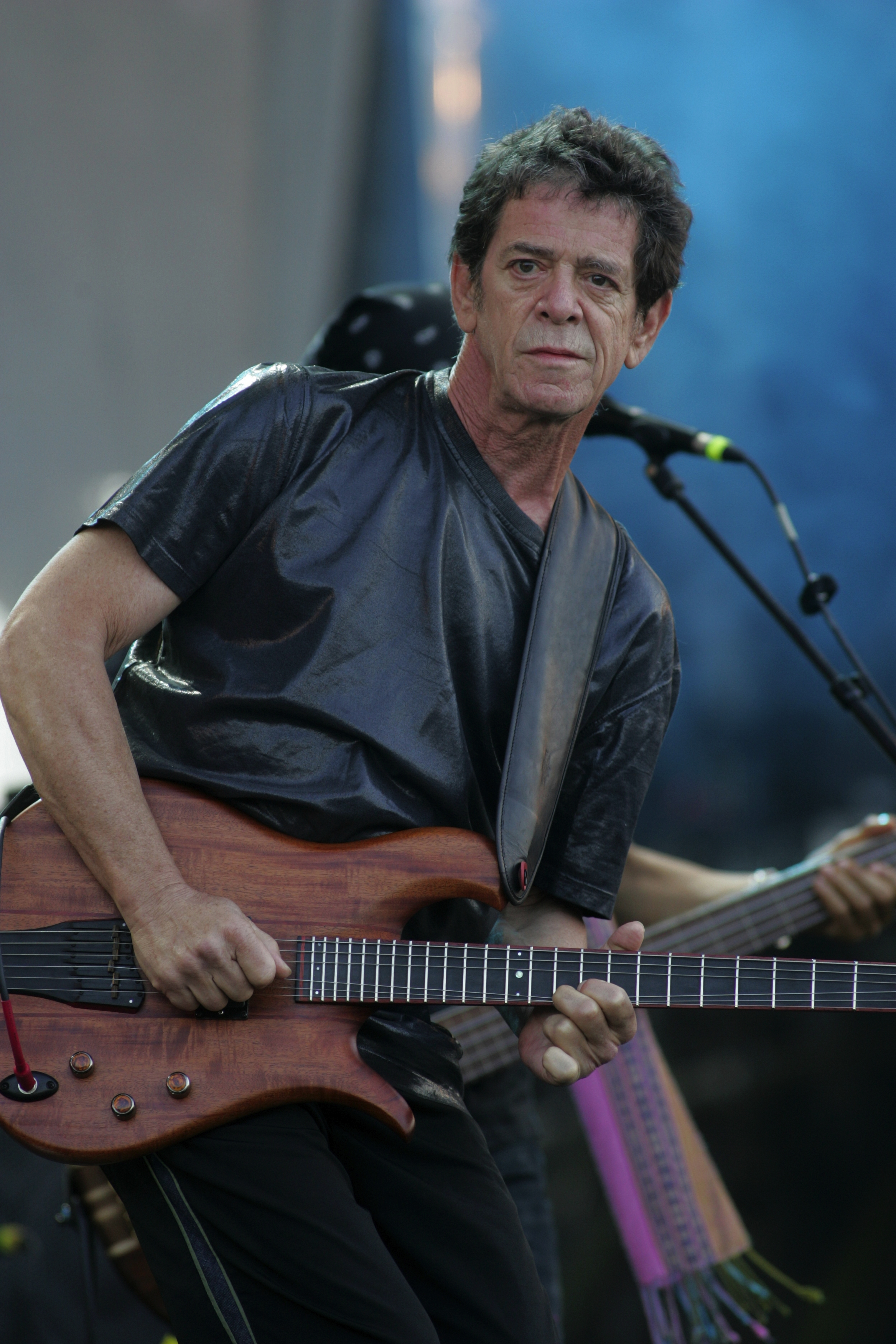 Lou Reed at Isle of Wight Festival
