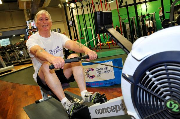 Murdoch Skelton takes on his rowing challenge