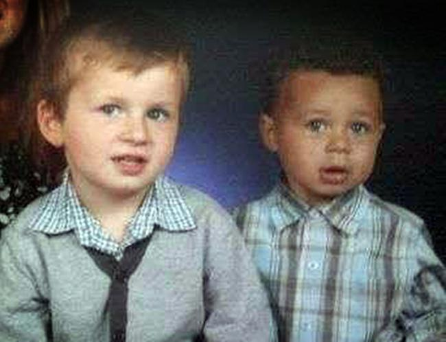 Bradley and Jayden Adams