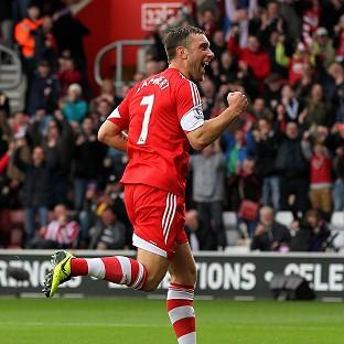 Daily Echo: Rickie Lambert is loving life at Southampton