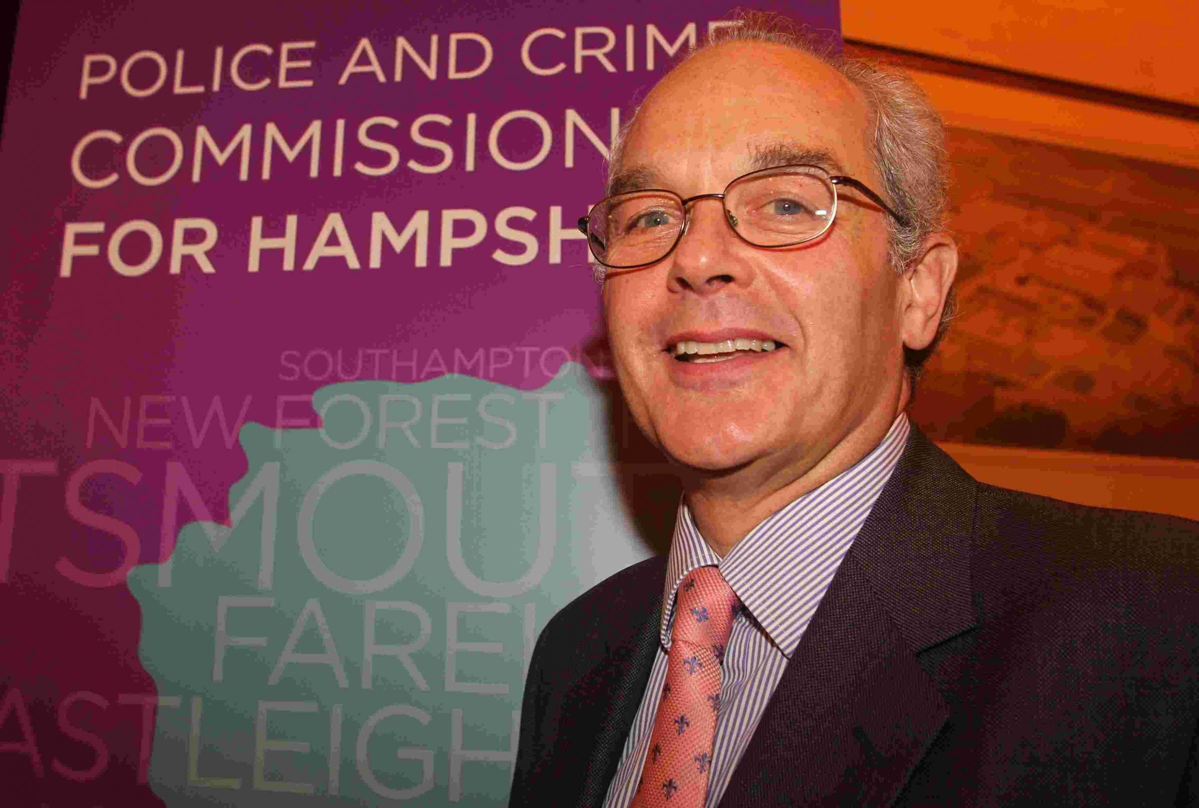 Hampshire PCC forced to use reserves to plug £1m hole