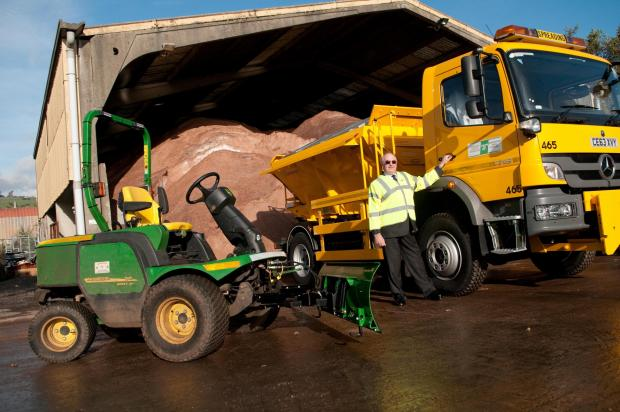 Gritters will be out tonight on the streets of Hampshire