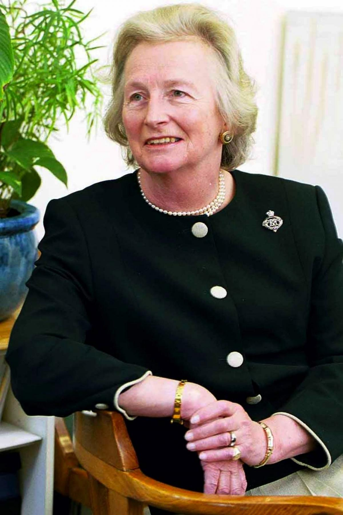 lord lieutenant of hampshire dame mary fagan prepares to bow out