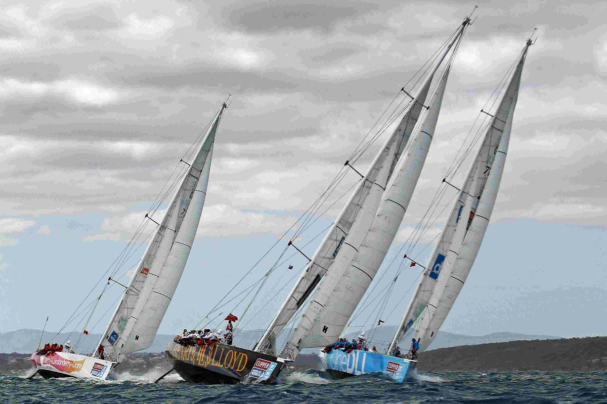 Clipper race resumes today