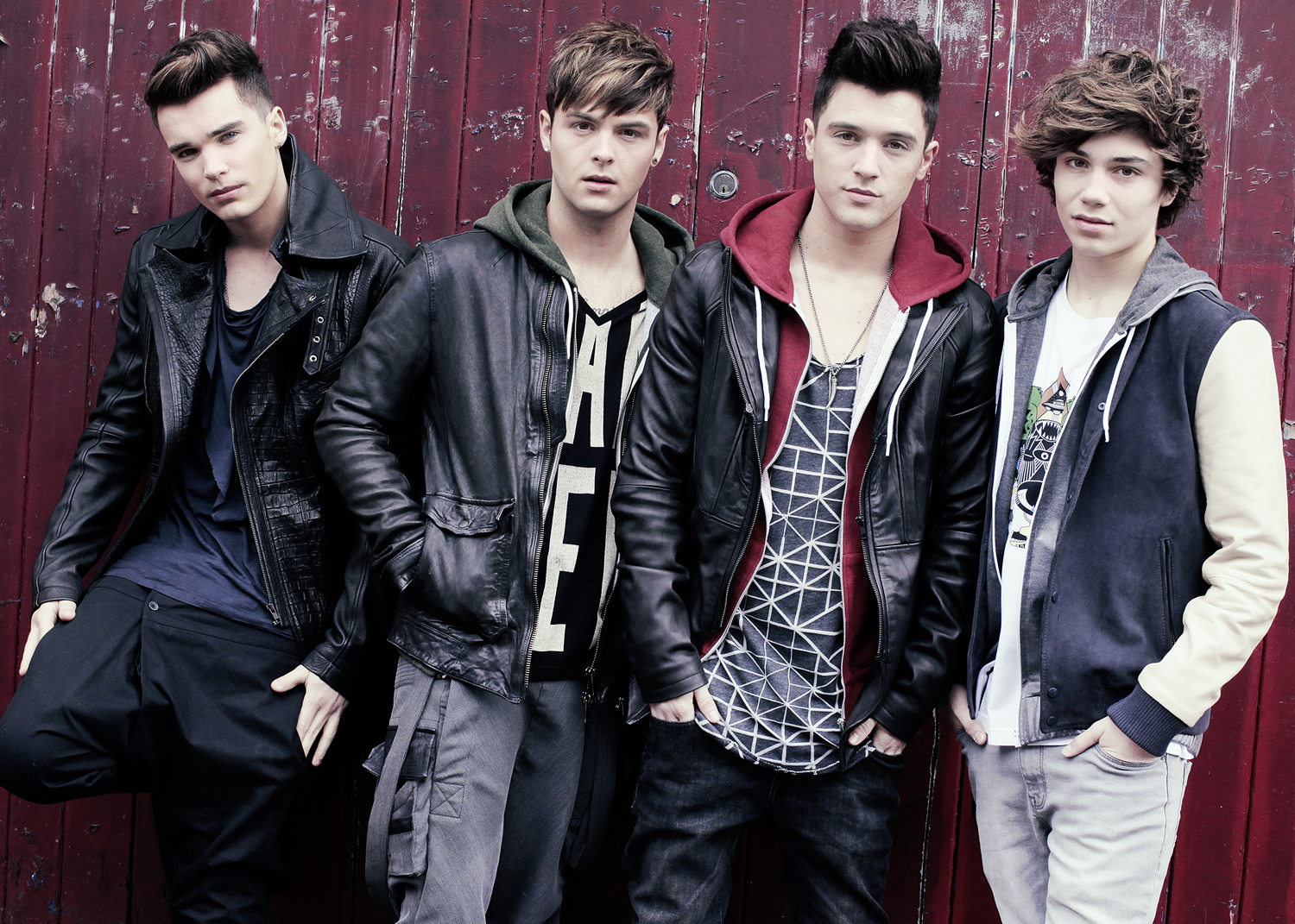 Boy band Union J in city date
