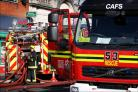 Investigation launched after bus fire in Hampshire village