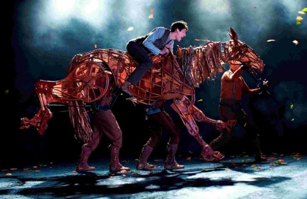 War Horse on the stage