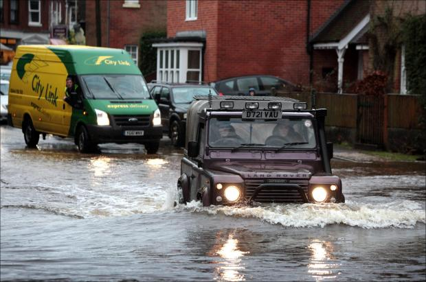 Daily Echo: Major flood alert for Hampshire