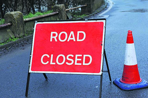 Daily Echo: Titchfield Road in Stubbington is closed after a car crash