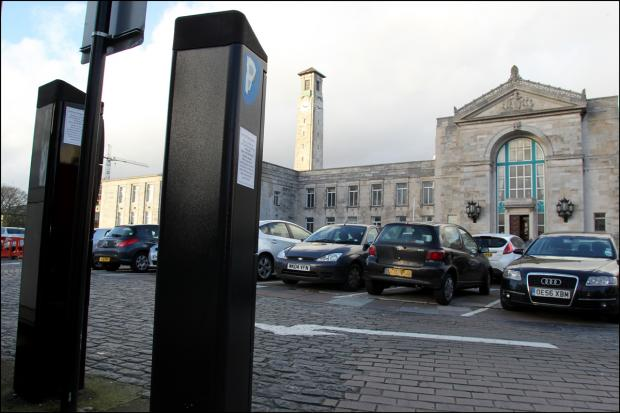 Three-year freeze on parking charges