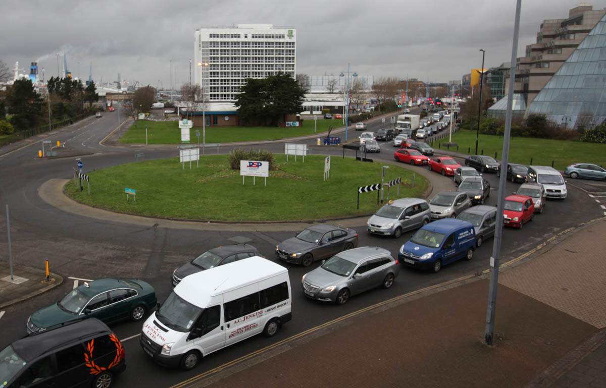 Demands for answers after drivers trapped for three hours in Southampton gridlock