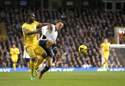 Vlad Chiriches in action for Tottenham last season