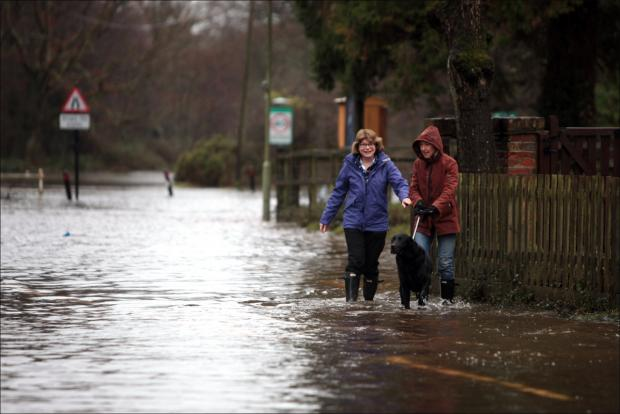 Warning over risk of further floods in Hampshire