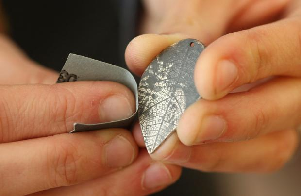Learn silversmith skills at Eastleigh jewellery workshop