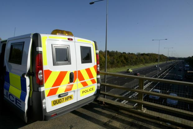 Daily Echo: No speeding: Police are taking control of M25 cameras