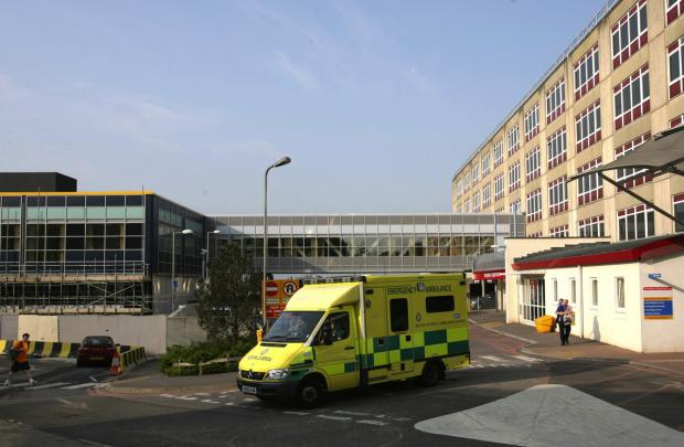 FOOTING THE BILL: The accident and emergency department at Southampton General Hospital.