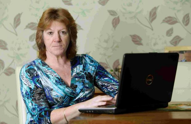 Daily Echo: Angie Whitmarsh, who has had her email account hacked