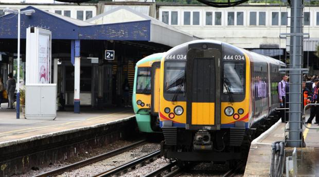 Train driver attacked during brawl on train at Southampton station