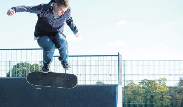Councillors are set to approve a £20,000 donation to improve the skatepark in Lymington