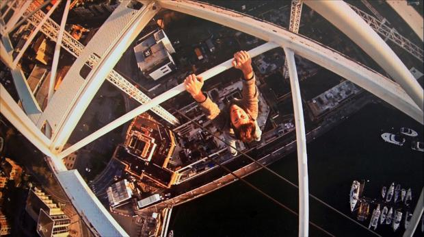 Daily Echo: VIDEO: Controversial thrill seeker who dangled 300ft from crane to be TV star.