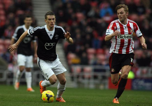 Saints in lunchtime action at Sunderland earlier this month