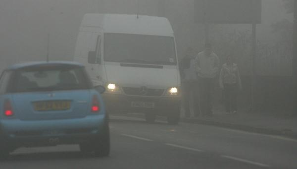 Motorists issued with fog alert across Hampshire