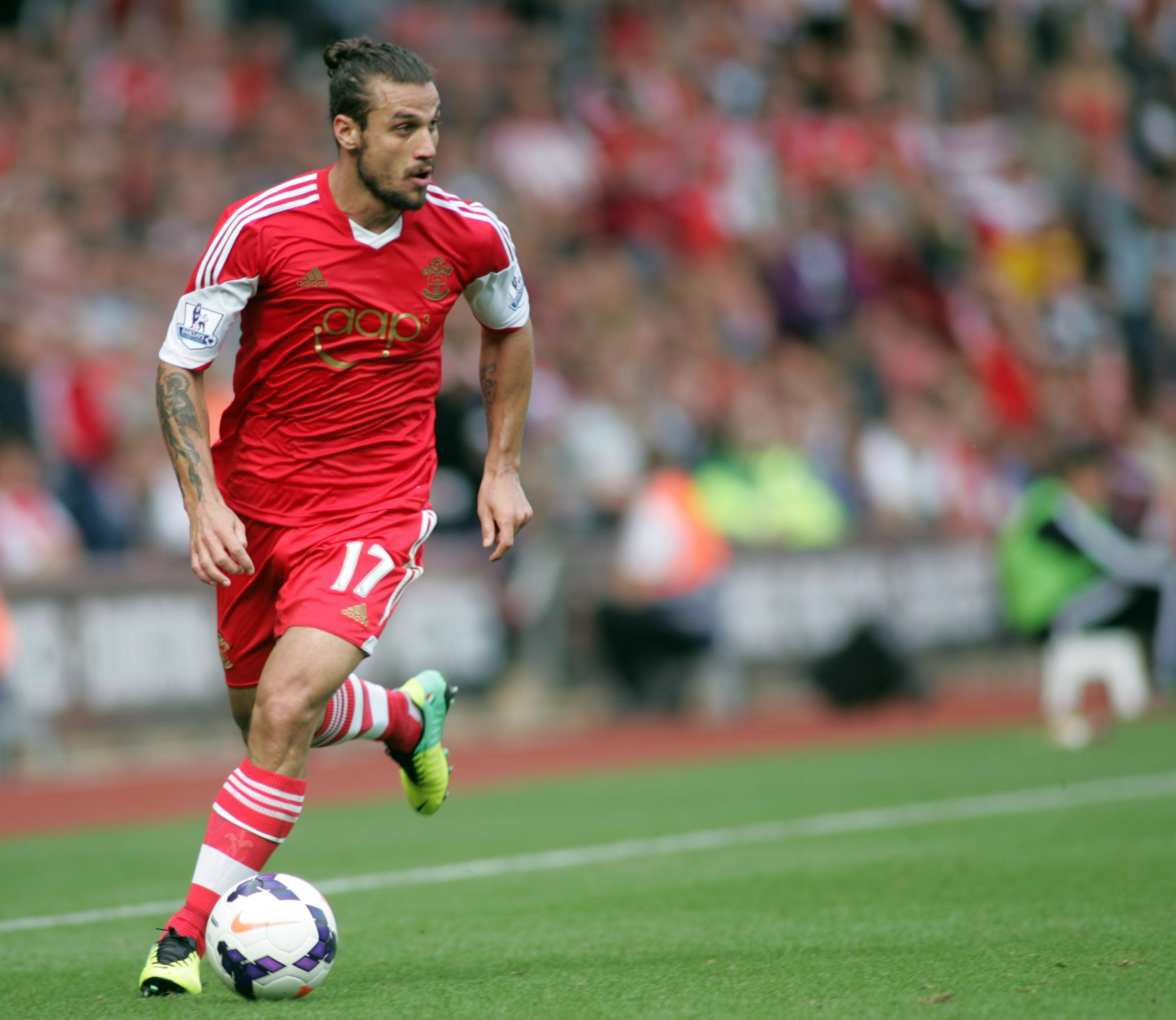 Osvaldo suspended for alleged headbutt