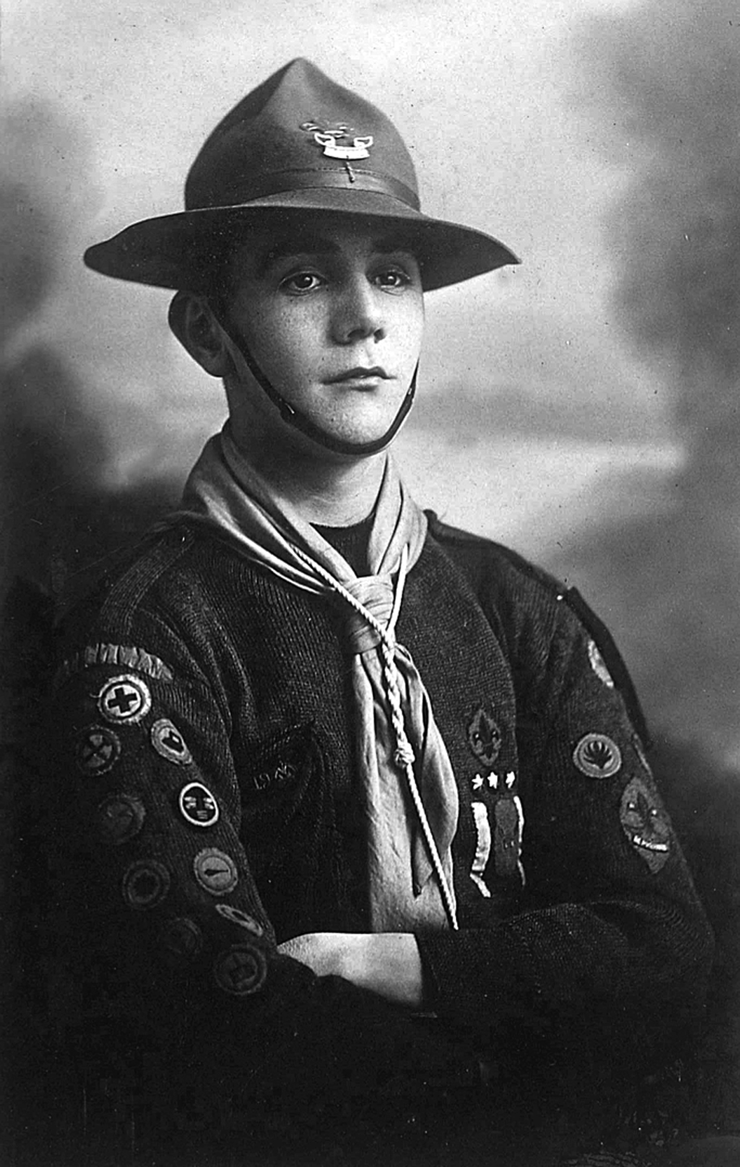 First World War Scout Lennie Tully