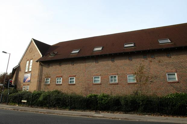 The former Woolston Boys' School site where 37 homes could be built