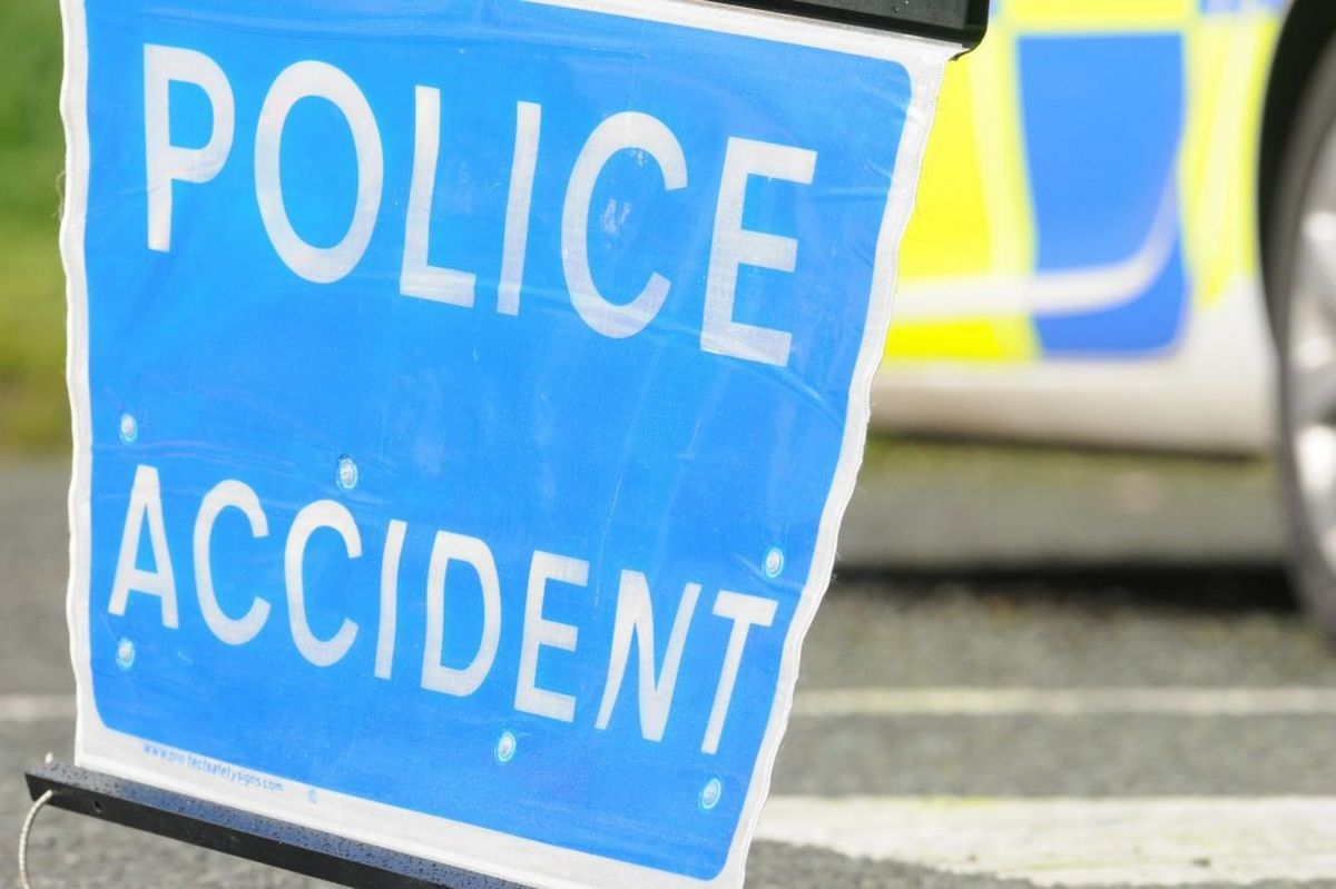 Driver hurt as car overturns and hits three parked vehicles