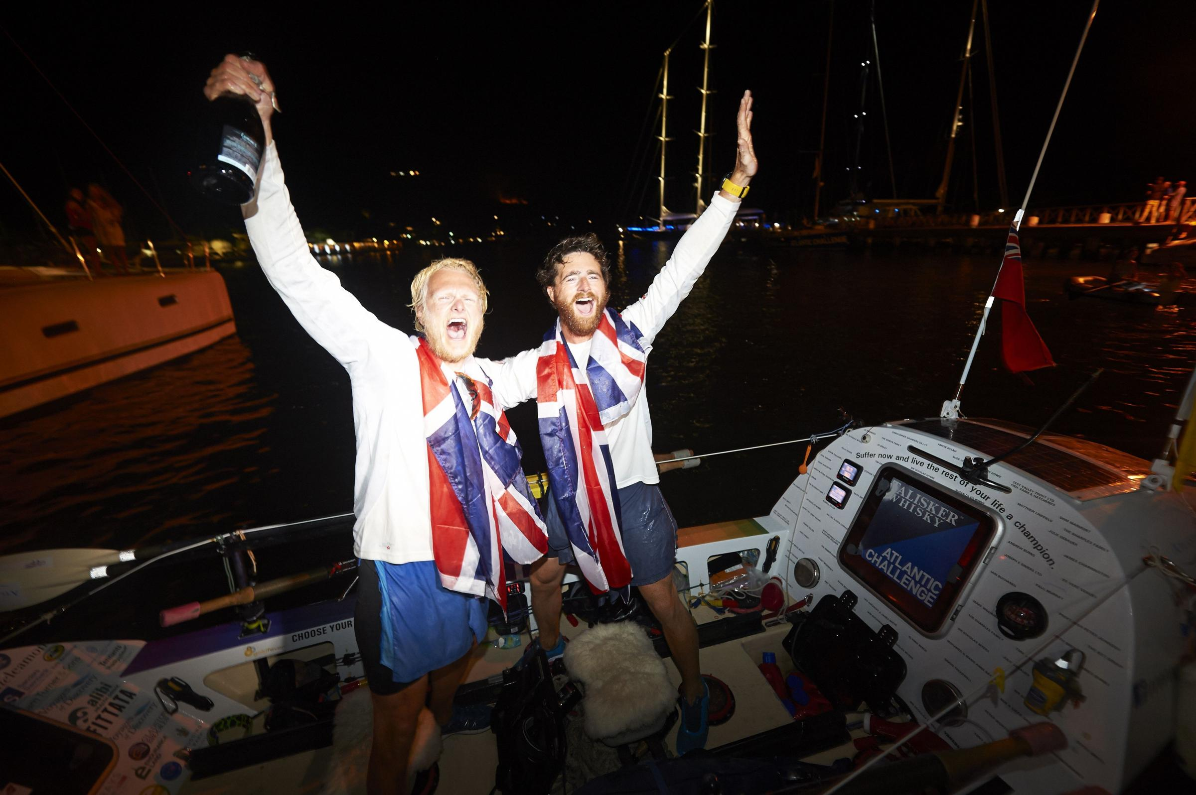 Hampshire man completes 3,000 mile charity row across Atlantic