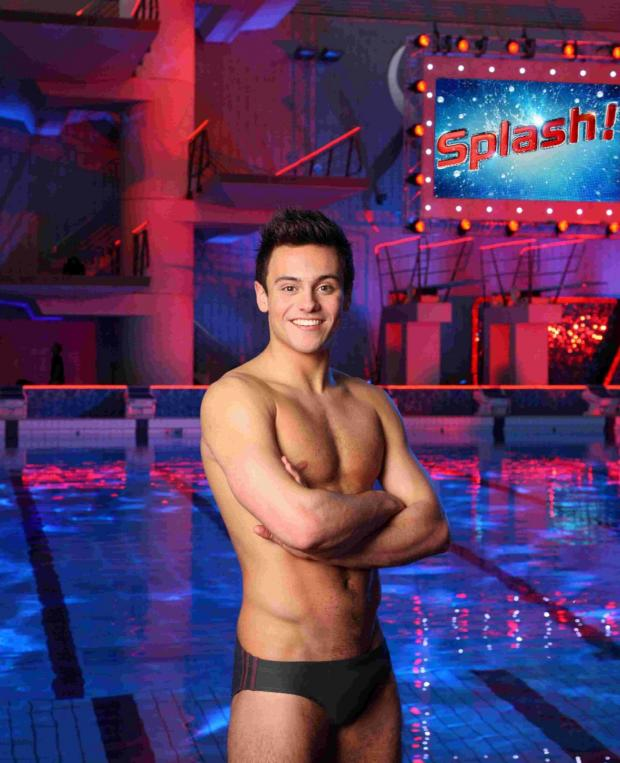 Daily Echo: Tom Daley in Splash!