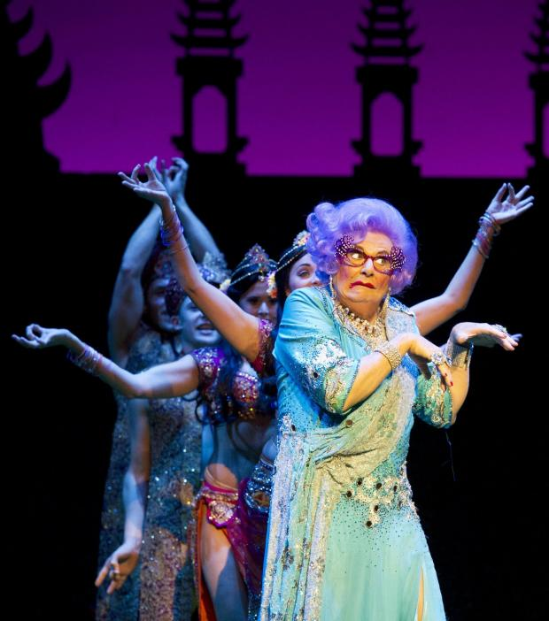 Daily Echo: Barry Humphries as Dame Edna Everage