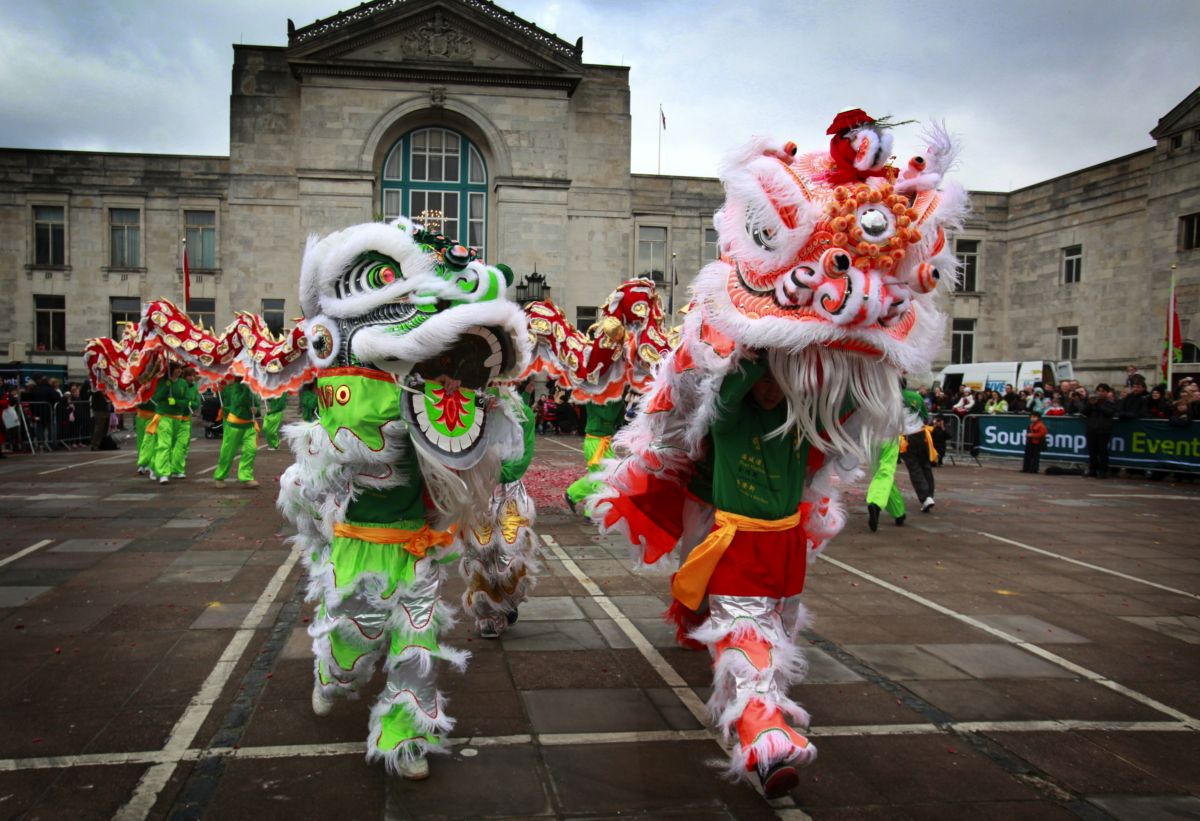 Previous Chinese New Year celebrations in Southampton.