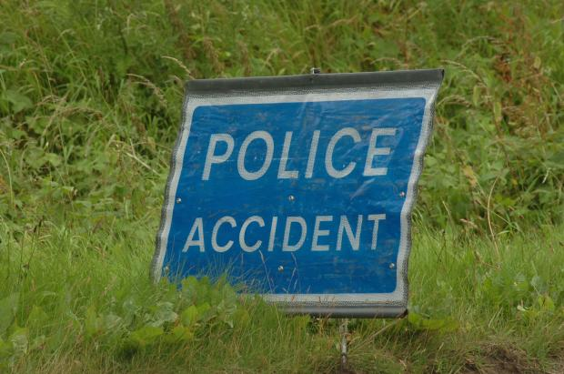 Crash causes jams on busy Hampshire road