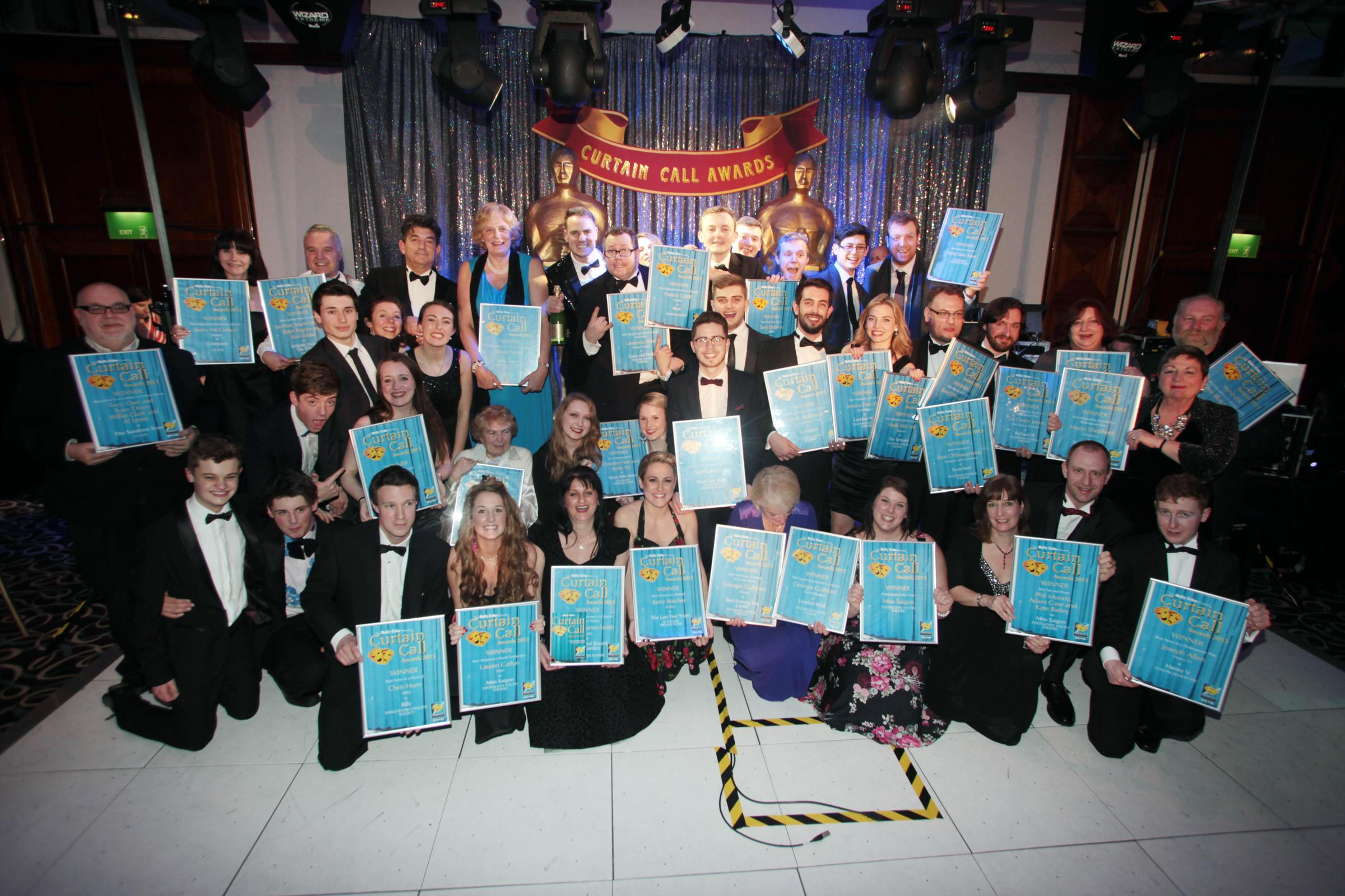 Winners unveiled at the Daily Echo Curtain Call Awards