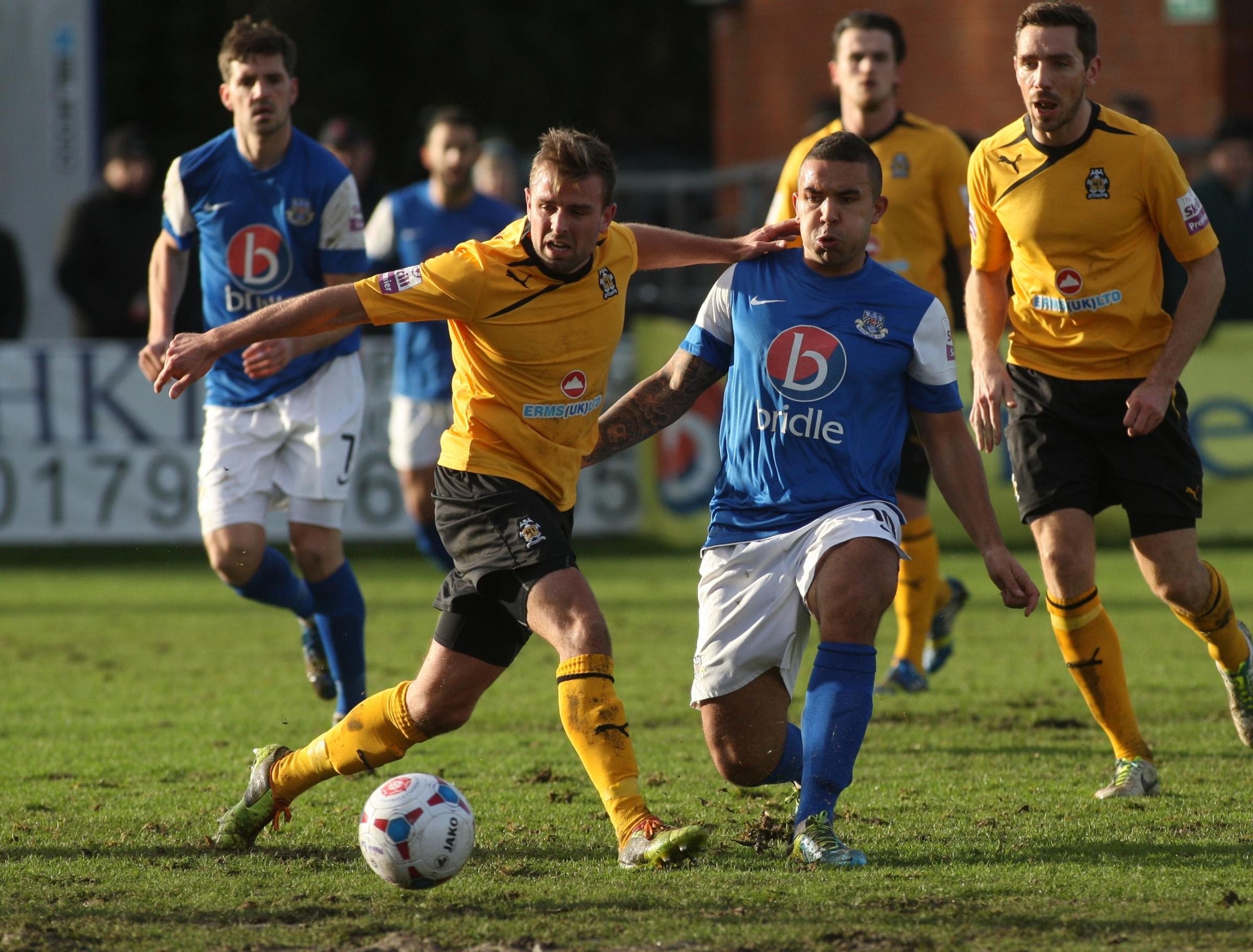 FA Trophy heartbreak for Eastleigh