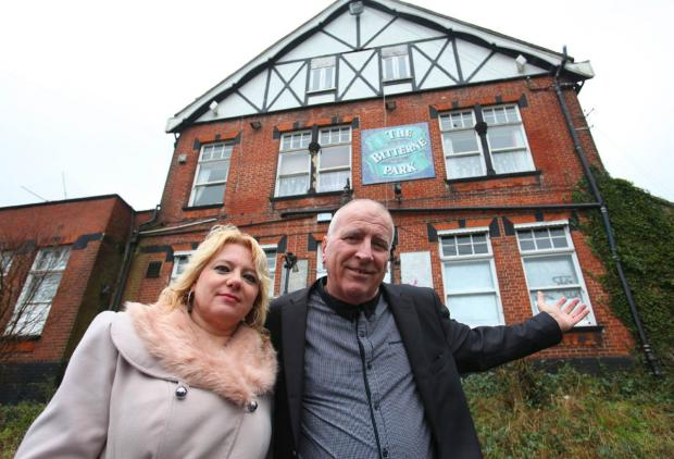 Couple step in to save historic pub